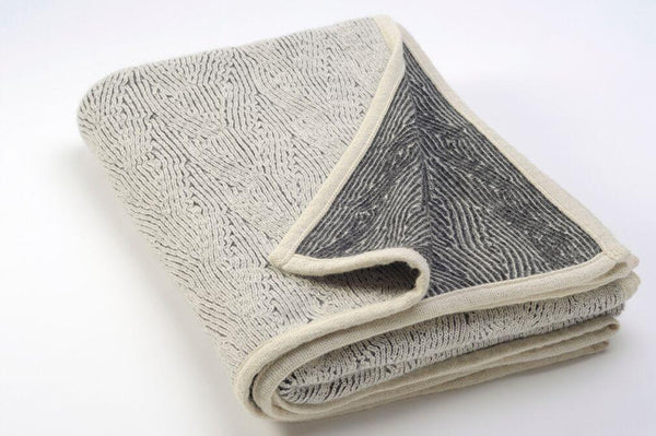 Kisma Silver throw Blanket