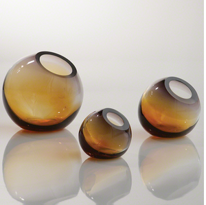 Orb Glass Vases