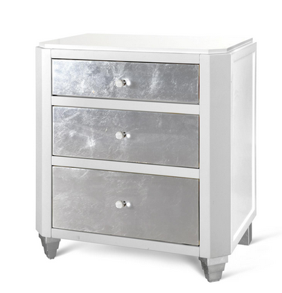 Mame 3-Drawer Side Table