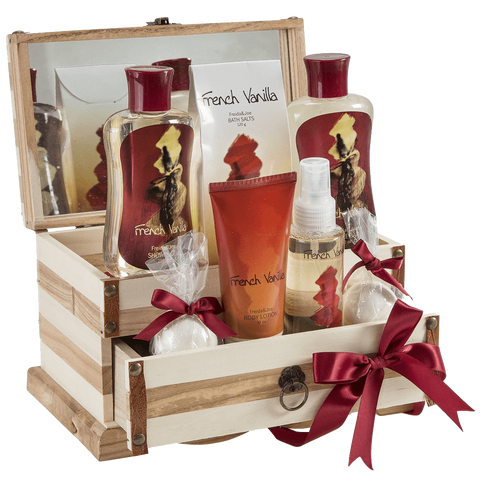 French Vanilla Bath Gift Set