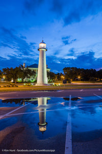 Biloxi Blues Lighthouse Reflection