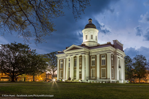 Canton Courthouse at Night