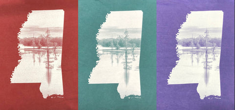 "Long Sleeve ""Lake"" T-shirts"