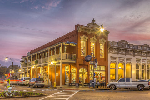 Square Books at Sunset