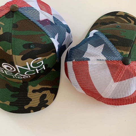 Long Beach 11561 Trucker Caps