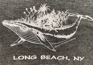 Long Beach, NY Whale Mural - Juliet Schreckinger