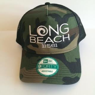 Long Beach 11561 Snap Back Trucker Caps