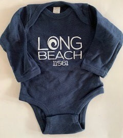 Long Beach 11561 Baby Long Sleeve Onesies