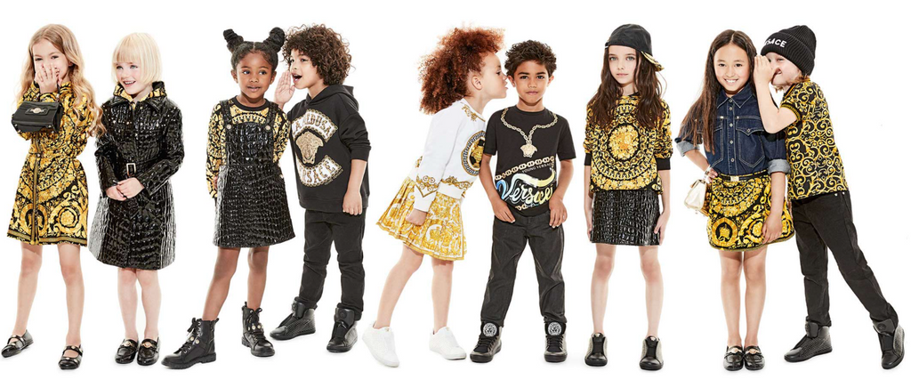 0868aa33c69a Young Versace. Young Versace Kids