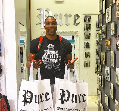 Dwight Howard Visits Pure Atlanta at Lenox Mall