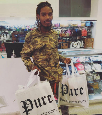 Fetty Wap visits Pure Atlanta at Lenox Square Mall