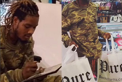 Fetty Wap visits Pure Atlanta