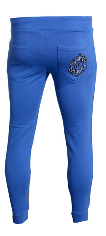 Slim Essential Jogger W/Logo|Royal