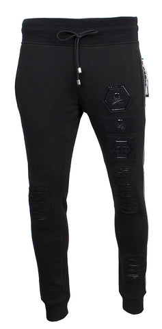 "Men's Jogging Trousers ""Smile Back""-Black"