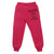 Girls Jogging Pants W/Logo| Fuchsia