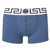 Men's Grecian Logo Boxer Briefs-Light Blue