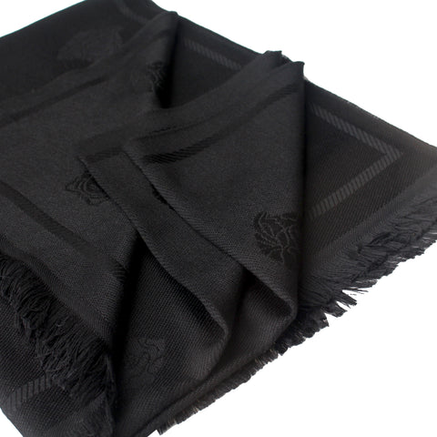 Medusa Head Scarf| Black