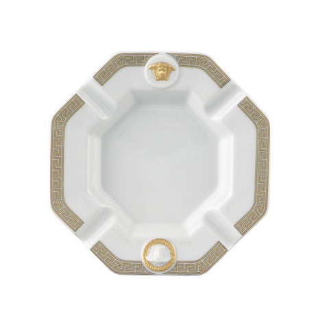 Ashtray, Porcelain, 5 1/2 inch | Gorgona