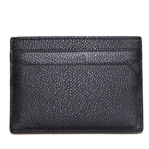 Men's Leather Card Case-Black