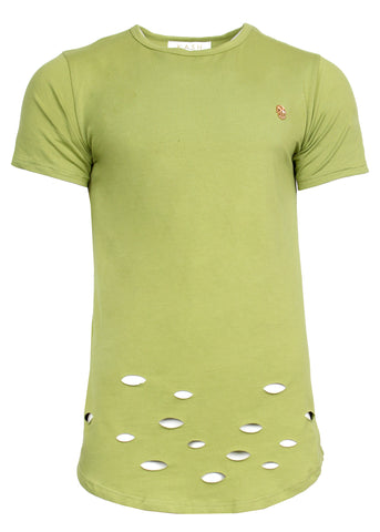 Kash Lime Green Tee
