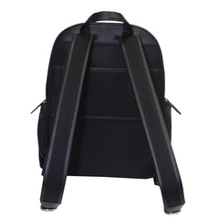 Men's CHAPMAY Calf Leather Backpack-Black