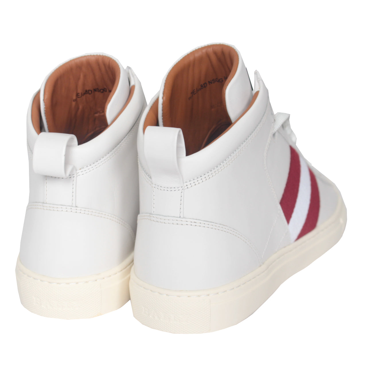 Hedern High Top Sneakers| White