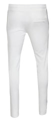KASH Icon Track Pants with HAMSA Hand| White