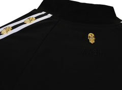 KASH Icon Track Jacket with HAMSA Hand|Black
