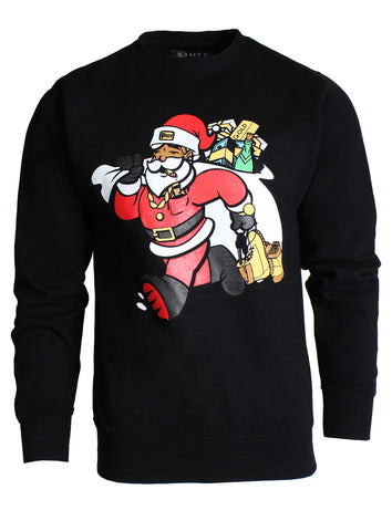 PURE Trap Santa Long Sleeve | Black