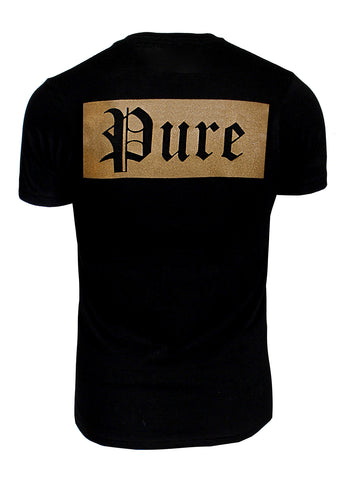 Pure Double Gold Logo Tee