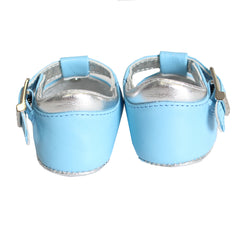 Baby Boy Crib Shoes-Light Blue