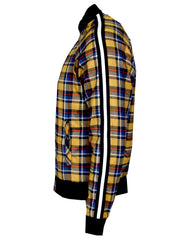 KASH Gold Plaid Track Jacket ,Private School Collection