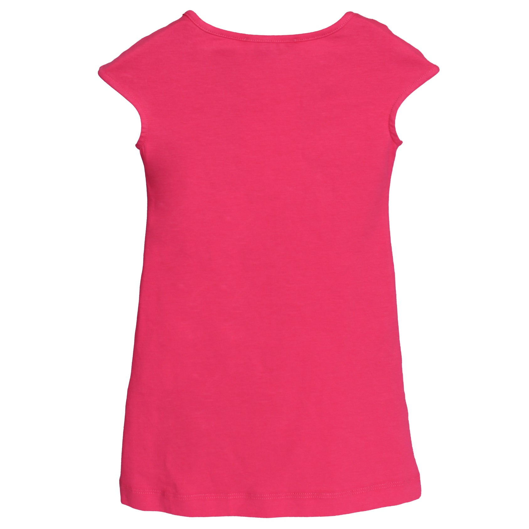 Girls Medusa Short Sleeve Dress-Pink