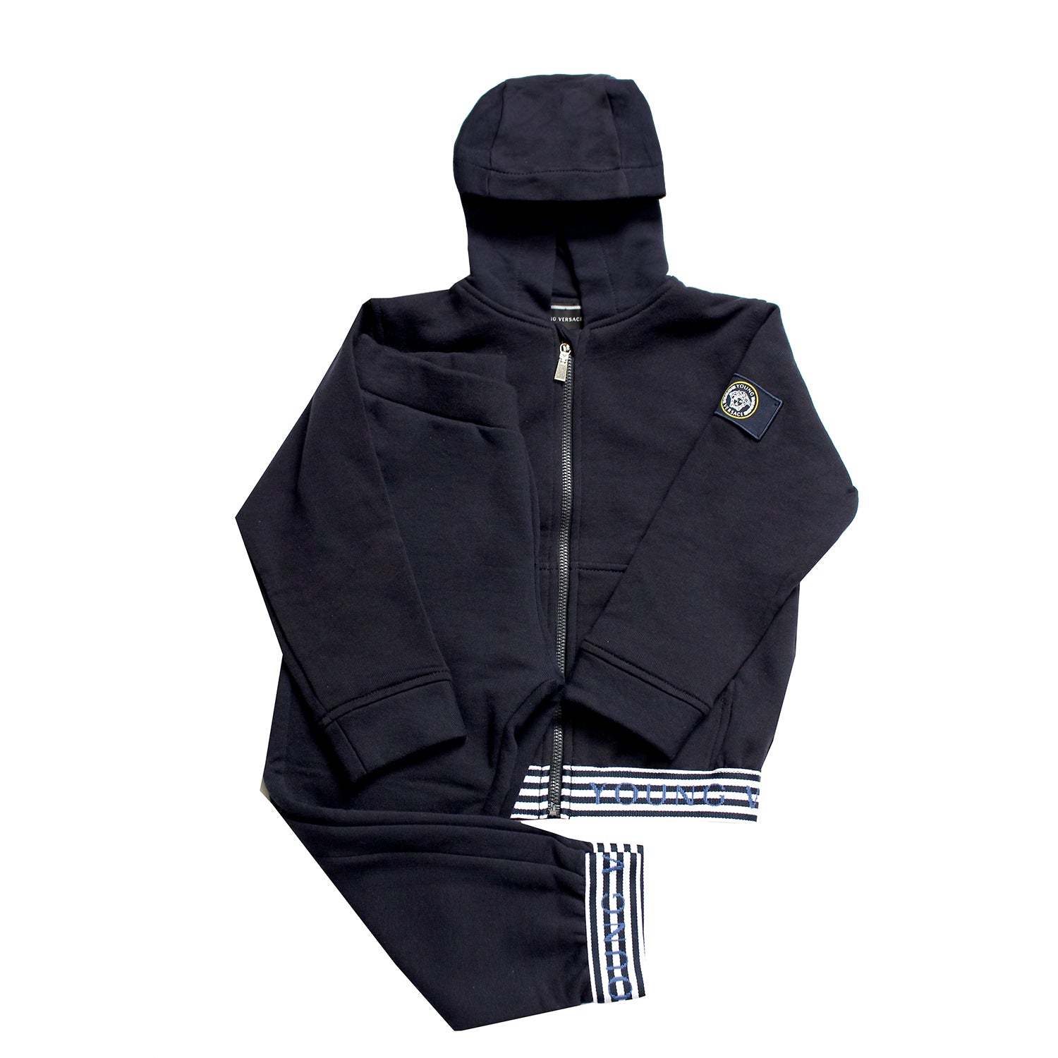 Boys Zipper Sweat Set