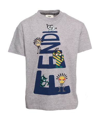 Fendi T-Shirt(GREY)