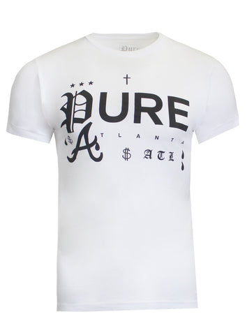 Tattoo Logo White Tee