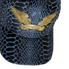 Robin's Jean Gold Wings Cap