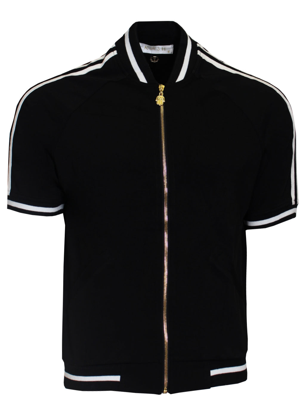 Kash Short Sleeve Jacket|Black