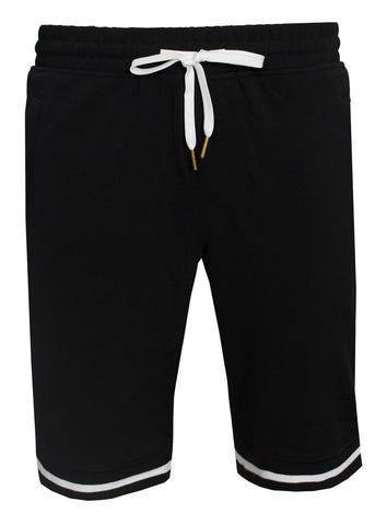 KASH Track Black Shorts