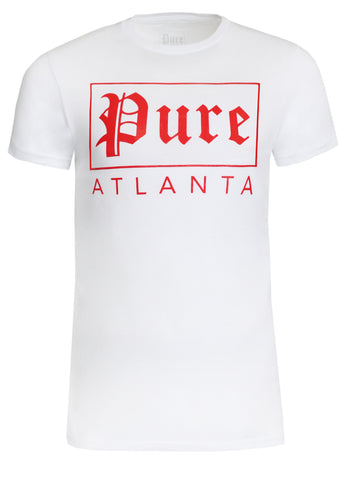 Pure Atlanta Logo Tee|White