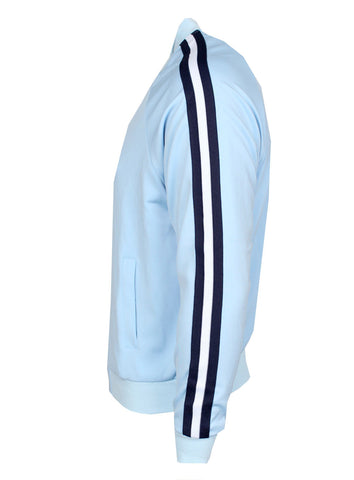 KASH Side Stripe Jacket | Sky Blue