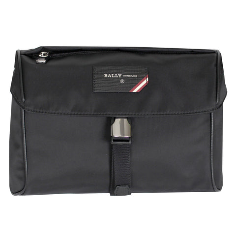 Unisex Nylon Falkon Bag-Black