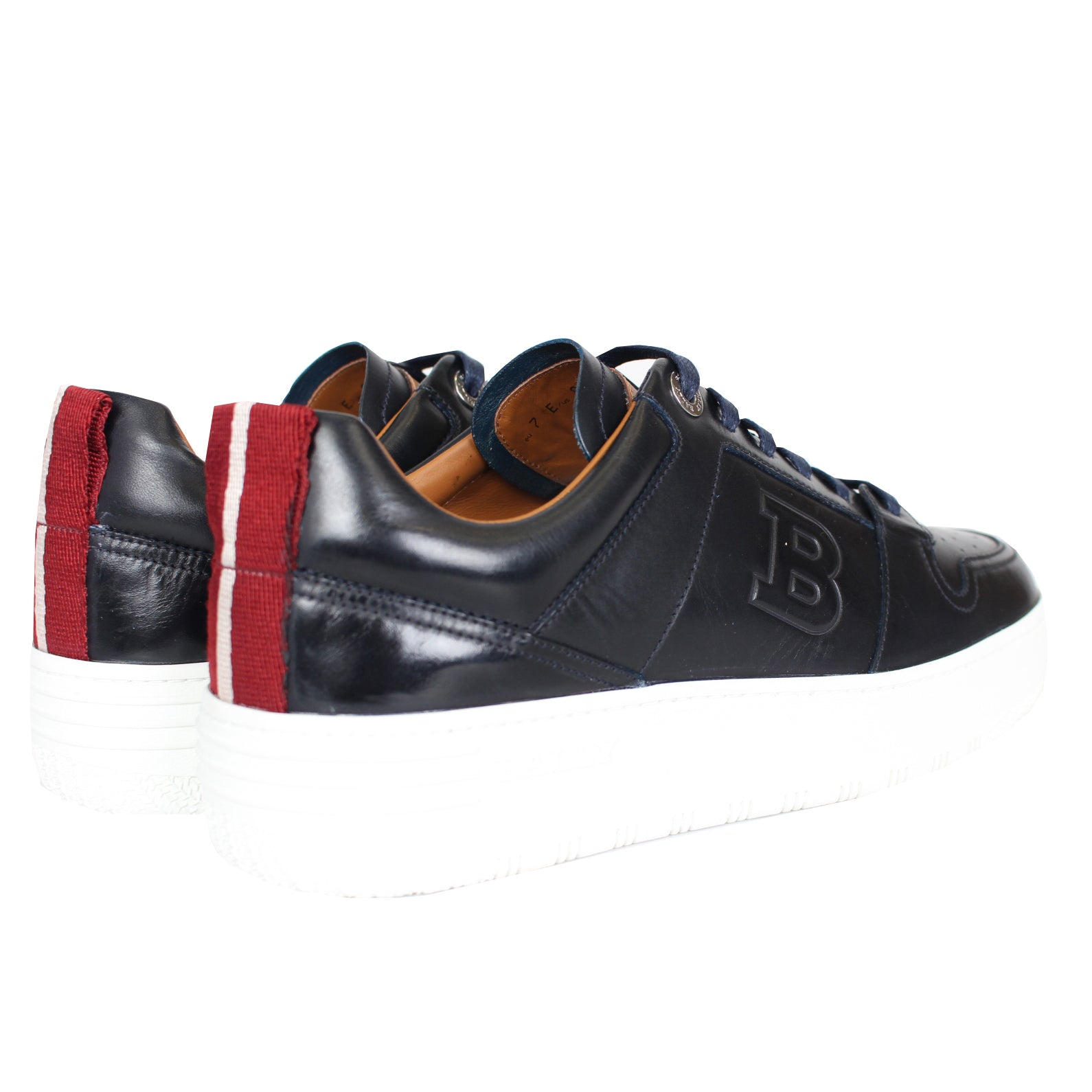 Odino/506 | Men's Leather Low-Top Sneaker in Black