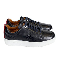 Men's Odino/506 Leather Low-Top Sneaker-Navy