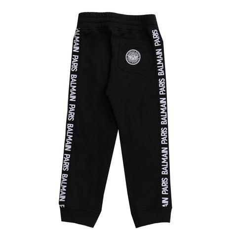 Balmain Paris Kids | Sweatpants W/Side Stripe Logo