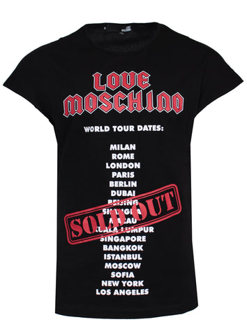 Love Moschino World Tour Tee
