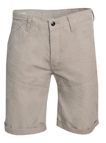 5621 3D 1/2 Length Lucas Canvas SD Short Khaki