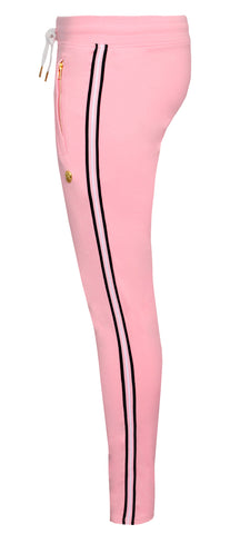 Cotton Candy Track Pants|Pink