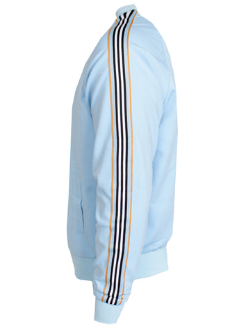 Sky Blue Ice Cream Cone Track Jacket LS|Sky Blue