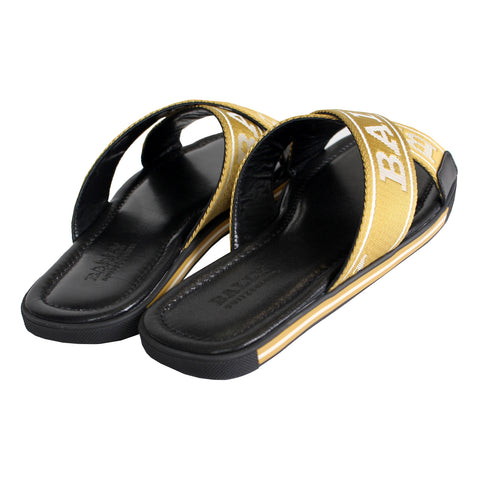 Men's Bonks Sandals-Gold